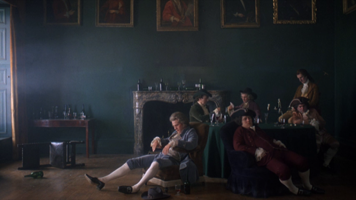 Barry Lyndon Screenshot: hanging out with pals